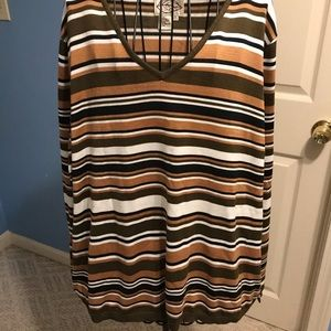 Striped Sweater Sz 2XL